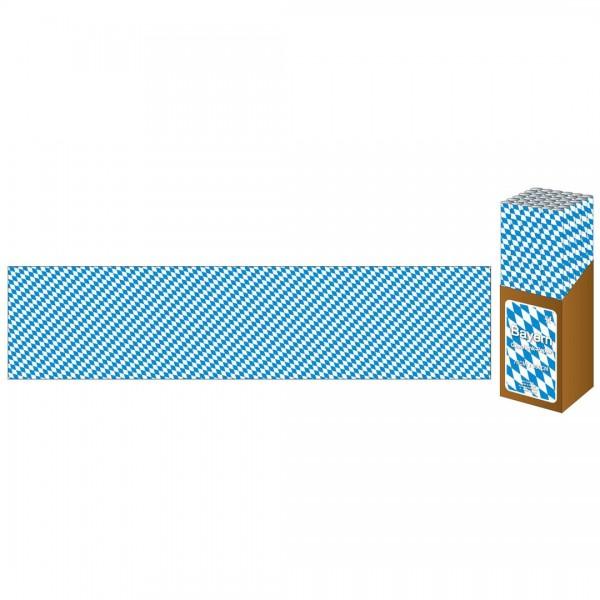 Geschenkpapier Bayernraute 70x300 cm, 1 Rolle