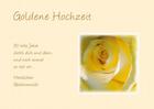 Grußkarte:Goldene Hochzeit ....50 tolle Jahre