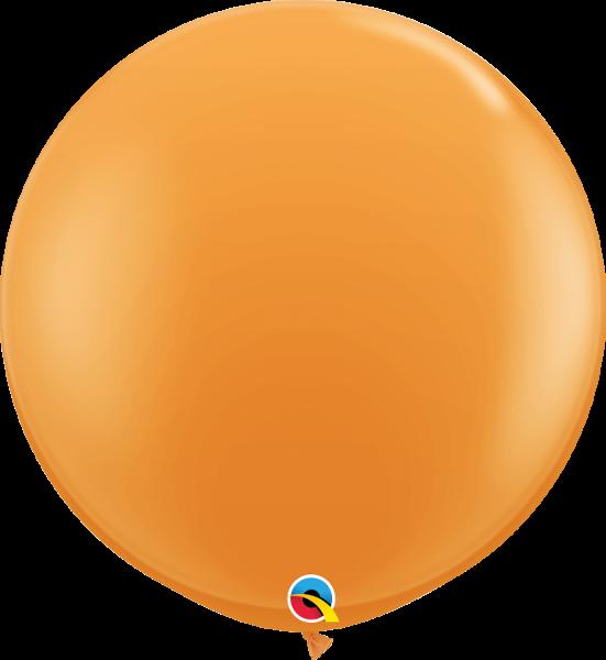 Riesenballon Qualatex, ca. 90 cm, orange