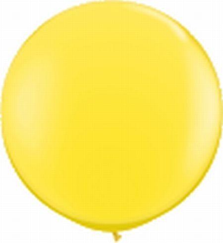 Riesenballon ca. 120 cm, gelb