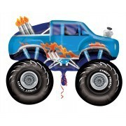 Ballongruß: Monstertruck, ca. 80 cm