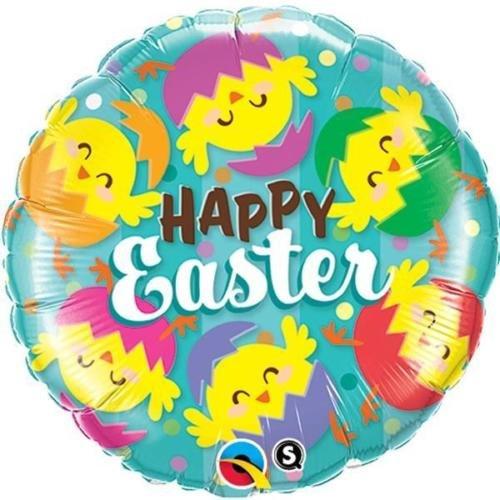 Ballongruß: Happy Easter, ca. 45 cm