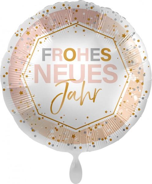Ballongruß: Frohes neues Jahr, Shine, ca. 45 cm