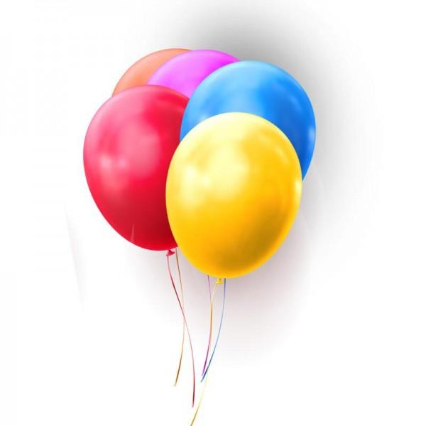 METALLIC Ballons - 40 cm - 10 St.