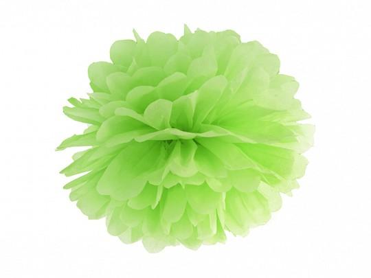 Pompom hellgrün, 25 cm, 1 St.