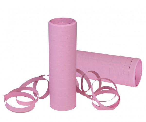 Luftschlangen rosa, 2 Rollen