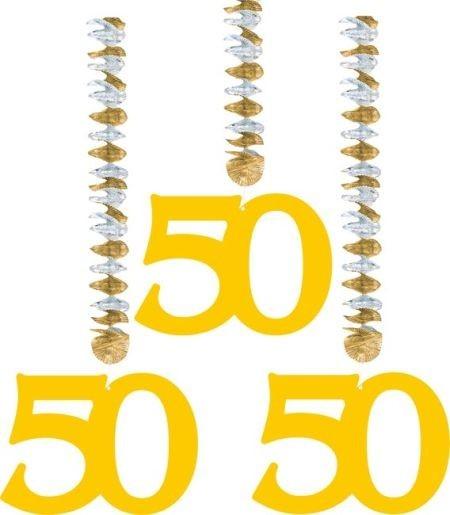 Rotorspiralen 50, gold, 3 St.