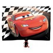 Ballongruß: Cars, schwarz/rot/weiß ca. 50 cm