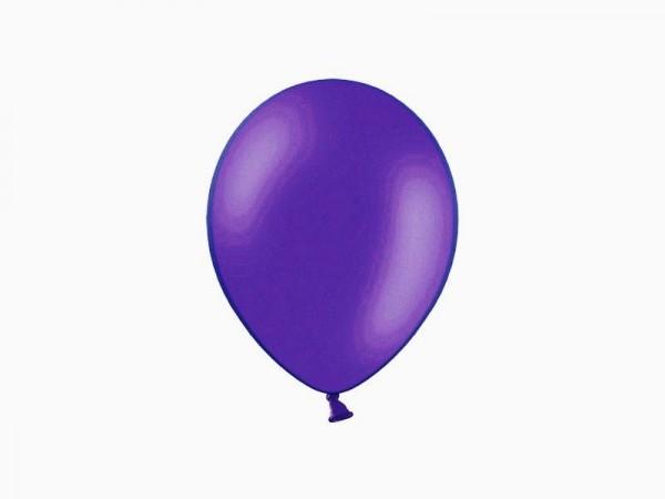 Metallic-Ballons - lila - ca. 30 cm