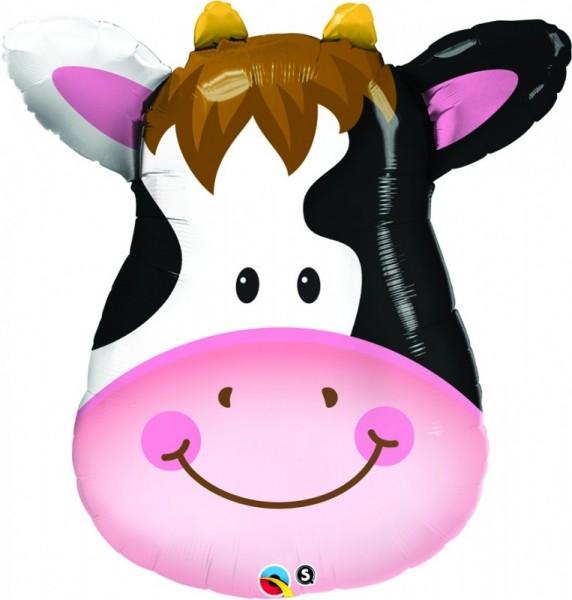 Ballongruß: Kuh Kopf klein, ca. 60 cm