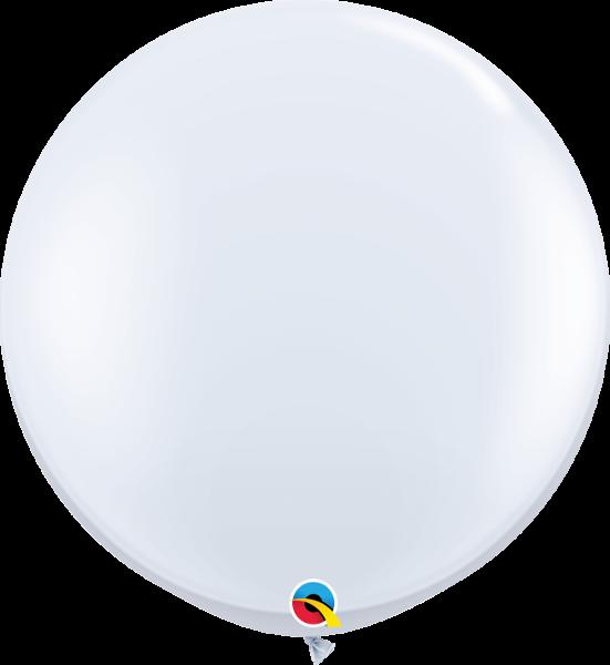 Riesenballon Qualatex, ca. 90 cm, clear/transparent