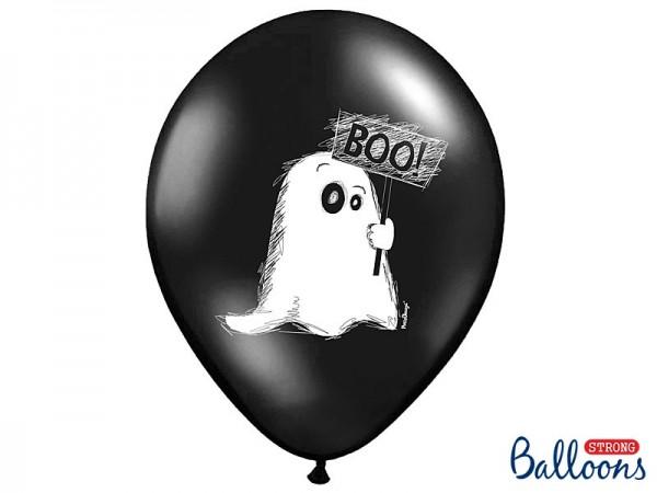 Ballons Boo, ca. 30 cm, 6 St.