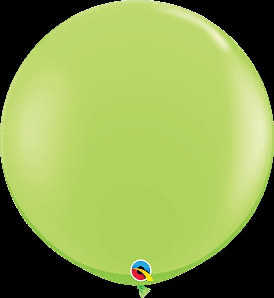 Riesenballon Qualatex, ca. 90 cm, lime/hellgrün