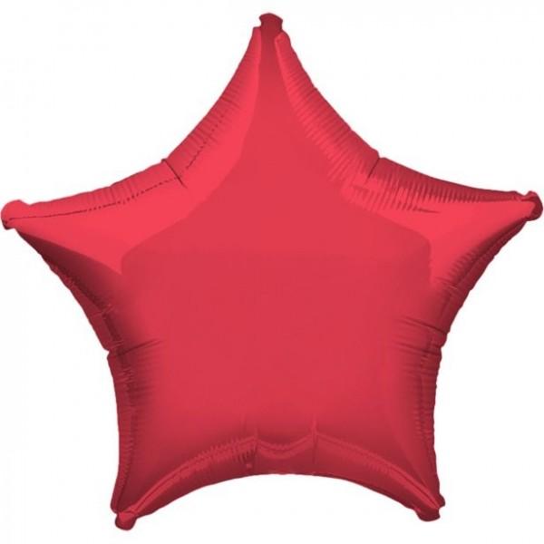 Folienstern rot, Riesenballon, ca. 90 cm
