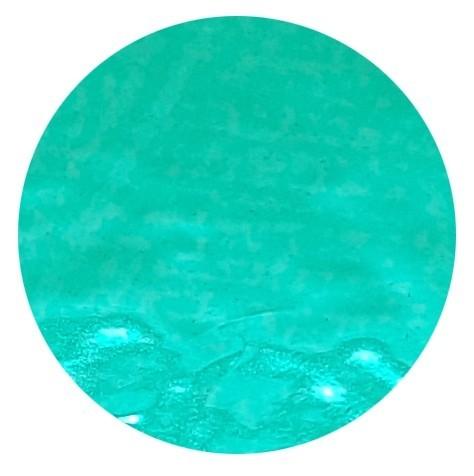 Konfetti Punkte türkis Metallic-Folie, ca. 2 cm, 15 gr.