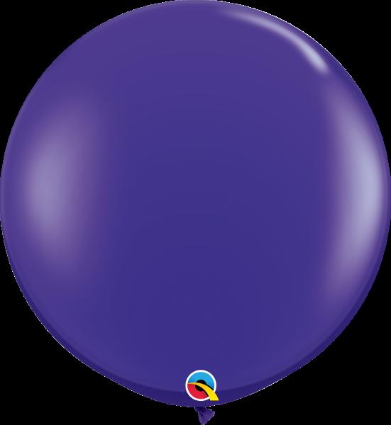 Riesenballon Qualatex, ca. 90 cm, purple/lila