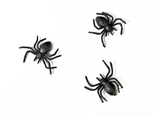 Streuteile Spinnen, ca. 3x2 cm, 10 Stück