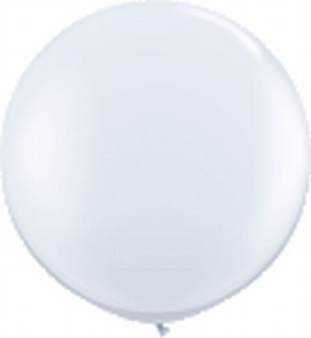 Riesenballon ca. 120 cm, weiß