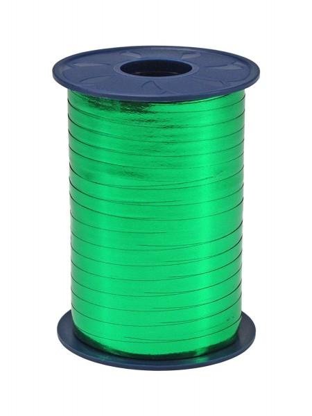 Polyband, grün, Metallic, 400 Meter-Rolle