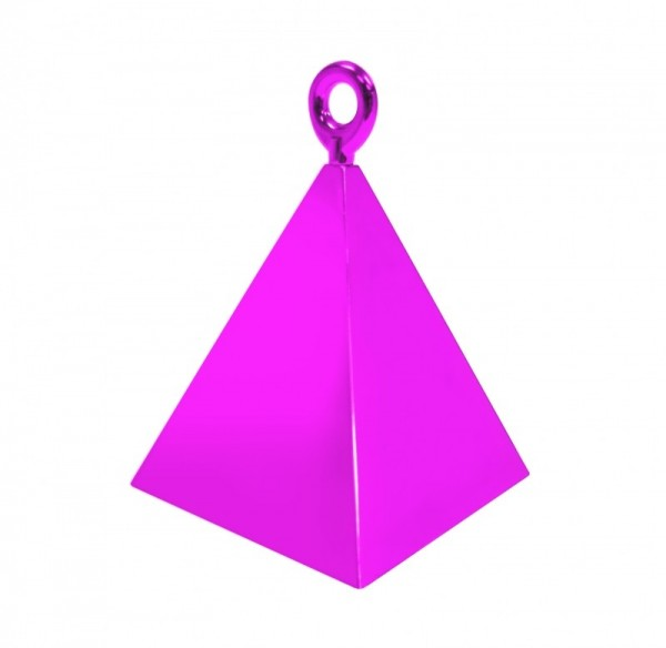 Ballongewicht Pyramide pink, ca. 150 gr.