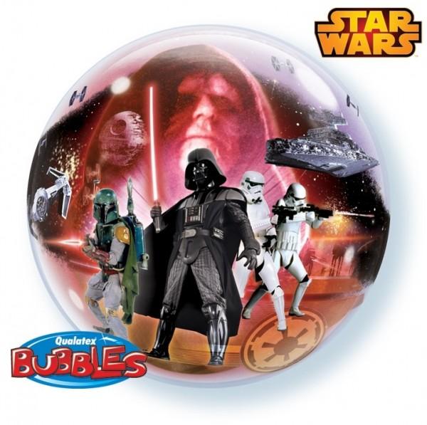 Ballongruß: Bubble Star Wars, ca. 56 cm