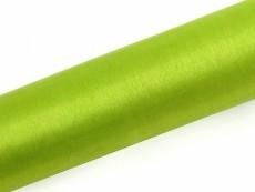 Organza, ca. 36 cm x 9 Meter Rolle, hellgrün