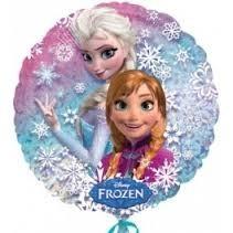 Ballongruß: Eisprinzessin Frozen, Disney, ca. 45 cm