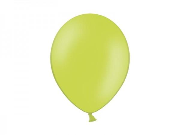 Metallic-Ballons - hellgrün - ca. 30 cm