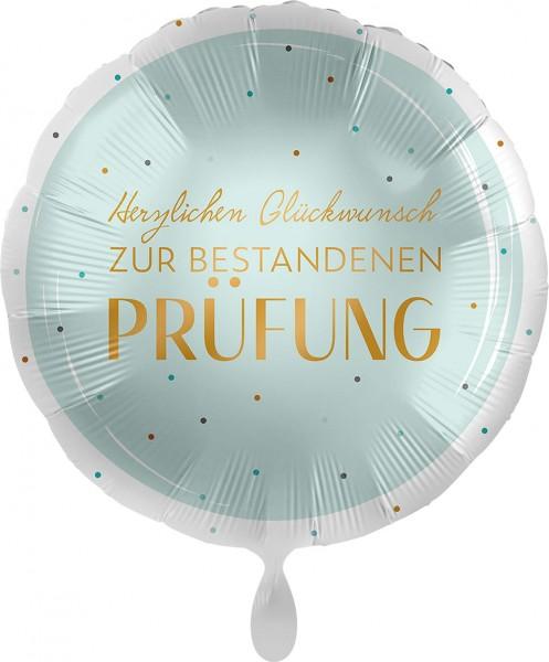 Folienballon Herzlichen Glückwunsch zur bestandenen Prüfung, ca. 45 cm