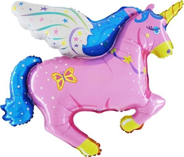 Folienshape Pegasus rosa, ca. 85 cm