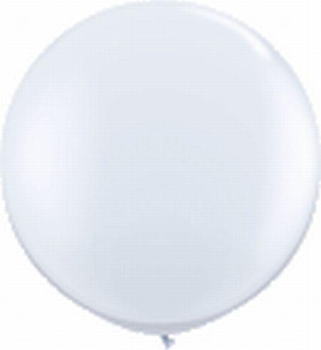 Riesenballon ca. 210 cm, weiß