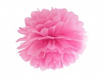 Pompom rosa, 25 cm, 1 St.