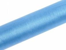Organza, ca. 36 cm x 9 Meter Rolle, hellblau