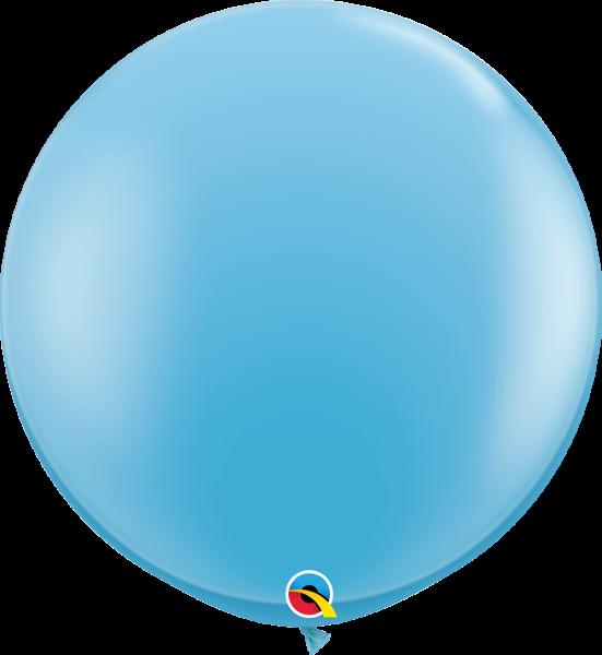 Riesenballon Qualatex, ca. 90 cm, paleblue/hellblau