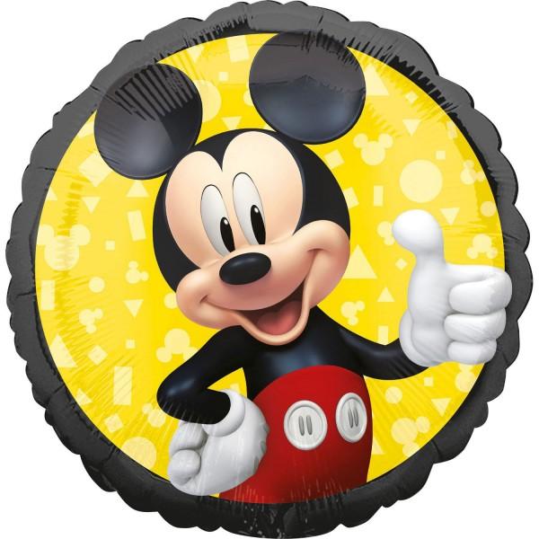 Folienballon Mickey Mouse Forever, rund, ca. 45 cm