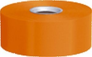 Polyband, orange, 4 cm, 91 Meter-Rolle