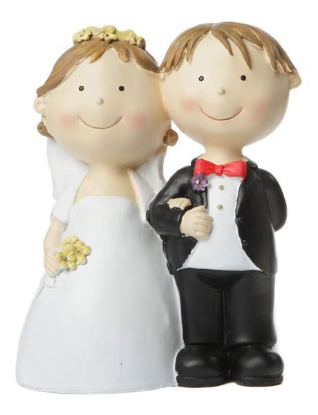 Spardose Hochzeitspaar, stehend, ca. 21 cm