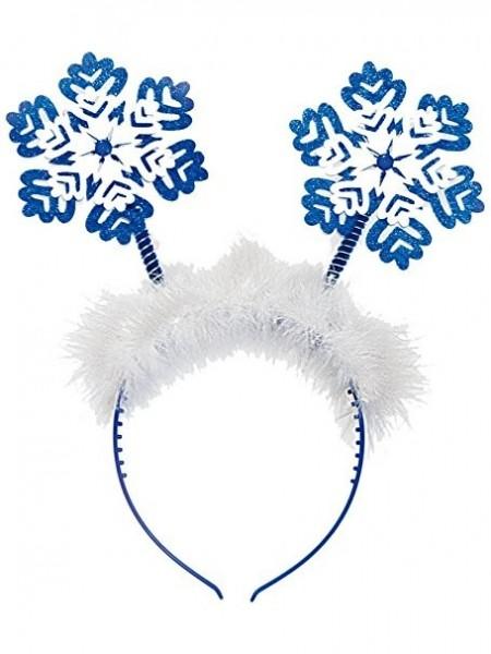 Haarreifen Schneeflocken, Einheitsgröße