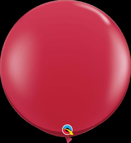 Riesenballon Qualatex, ca. 90 cm, red/rot