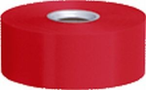 Polyband, rot, 4 cm, 91 Meter-Rolle
