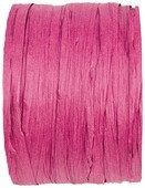 Bastband fuchsia, 20 Meter Rolle