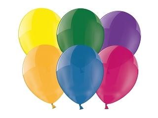bunt gemischte Basis-Ballons Mini, 50 St.