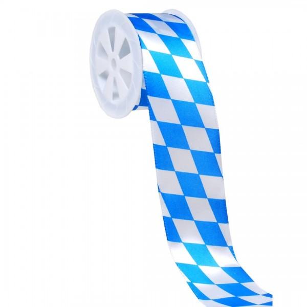 Geschenkband Bayern, 4 cm x 3 Meter
