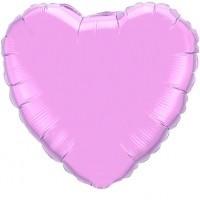 Folienherz, 90 cm, rosa