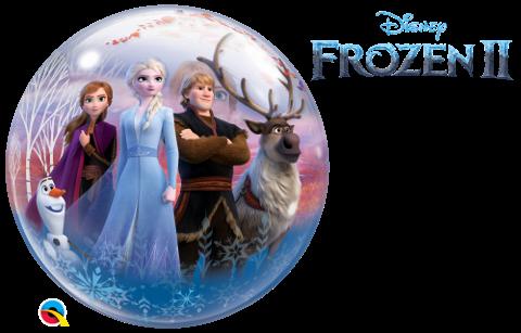 Bubble Frozen 2 Eisprinzessin, Qualatex, ca. 56 cm