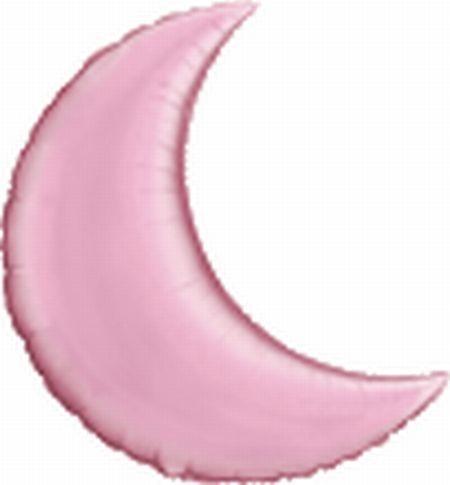 Folienmond, rosa, ca. 80 cm