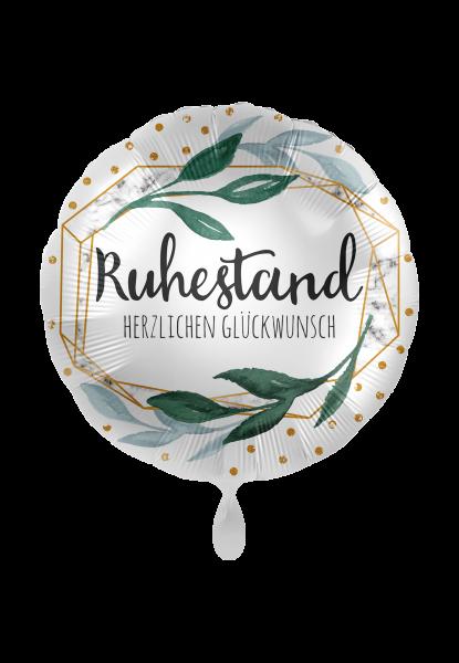 Folienballon Ruhestand Herzlichen Glückwunsch, ca. 45 cm