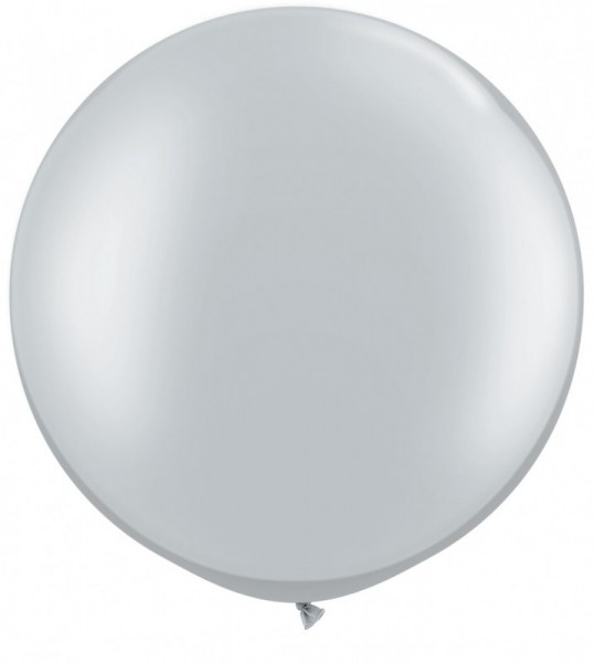 Riesenballon ca. 150 cm, silber