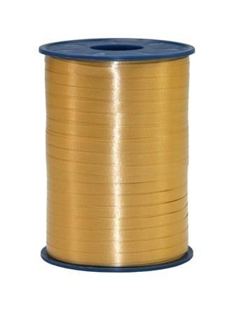 Polyband, gold / ocker, 500 Meter-Rolle