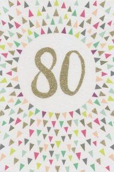 Grußkarte: 80 - Ornamente